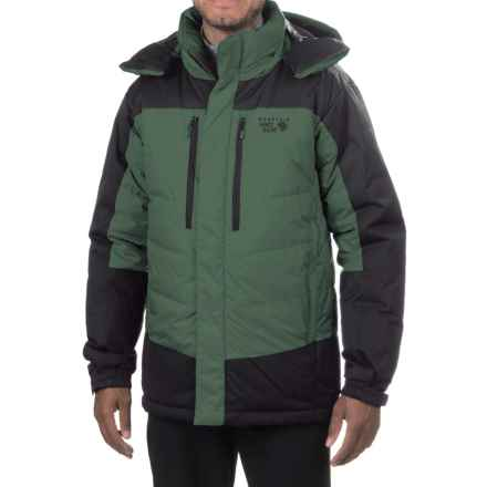 Mountain Hardwear Glacier Guide Down Hooded Parka - 650 Fill Power (For Men) in Thunderhead Grey - Closeouts