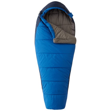 Mountain Hardwear Goat 20°F Sleeping Bag - Adjustable, Synthetic, Mummy (For Kids) in Blue Ridge