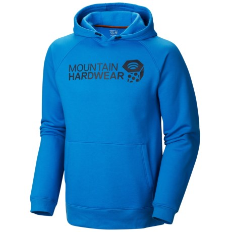 Mountain Hardwear Graphic Hoodie (For Men) in Hyper Blue