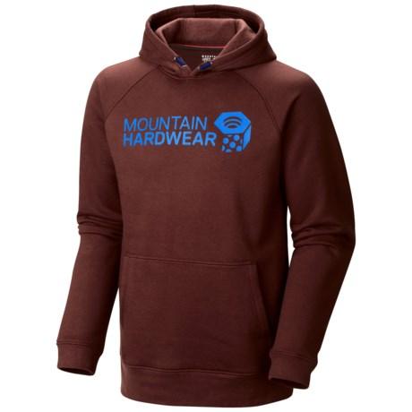 Mountain Hardwear Graphic Hoodie (For Men) in Redwood