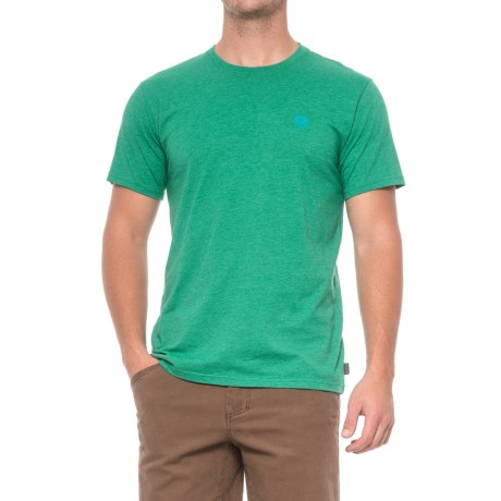 Mountain Hardwear Graphic MHW Logo T-Shirt - Short Sleeve (For Men) in Heather Plastic Fern