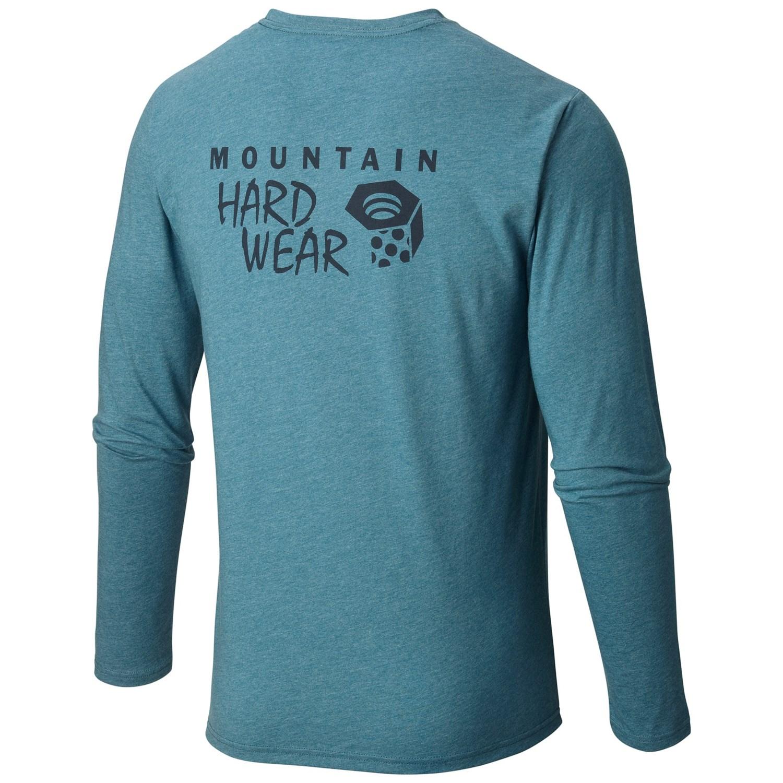 Mountain hardwear graphic t shirt for men cb304 for Mountain long sleeve t shirts