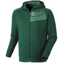 Mountain Hardwear Gravitational Hoodie Sweatshirt - Zip (For Men) in Pine Tree - Closeouts