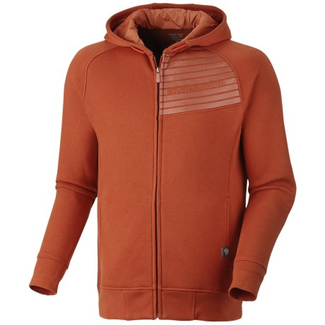 Mountain Hardwear Gravitational Hoodie - Zip (For Men) in Russet Orange