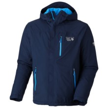Mountain Hardwear Gravitor Dry.Q Elite Jacket - Waterpoof, Insulated (For Men) in Collegiate Navy - Closeouts
