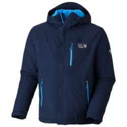Mountain Hardwear Gravitor Dry.Q Elite Jacket - Waterpoof, Insulated (For Men) in Black