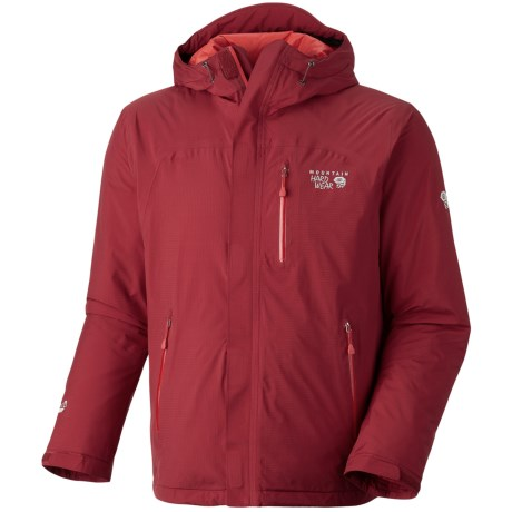 Mountain Hardwear Gravitor Dry.Q® Elite Jacket - Waterpoof, Insulated (For Men) in Red Velvet