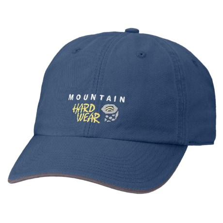 Mountain Hardwear Hardwear Baseball Cap - Organic Cotton (For Boys) in Blue Ice