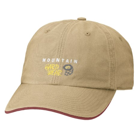 Mountain Hardwear Hardwear Baseball Cap - Organic Cotton (For Boys) in British Tan