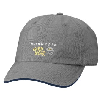 Mountain Hardwear Hardwear Baseball Cap - Organic Cotton (For Boys) in Titanium