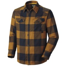 Mountain Hardwear Haydon Shirt - Flannel, Long Sleeve (For Men) in Morrell - Closeouts