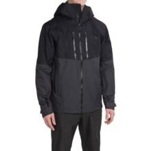 Mountain Hardwear Hellgate Dry.Q® Elite Jacket - Waterproof (For Men) in Black/Shark - Closeouts