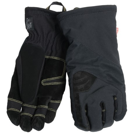Mountain Hardwear Heracles Gloves - Waterproof, Insulated (For Men) in Black