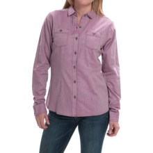 Mountain Hardwear Heralake Shirt - Long Sleeve (For Women) in Dark Raspberry - Closeouts