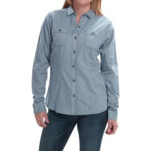 Mountain Hardwear Heralake Shirt - Long Sleeve (For Women) in Mountain - Closeouts