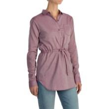 Mountain Hardwear Heralake Tunic Shirt - Long Sleeve (For Women) in Dark Raspberry - Closeouts