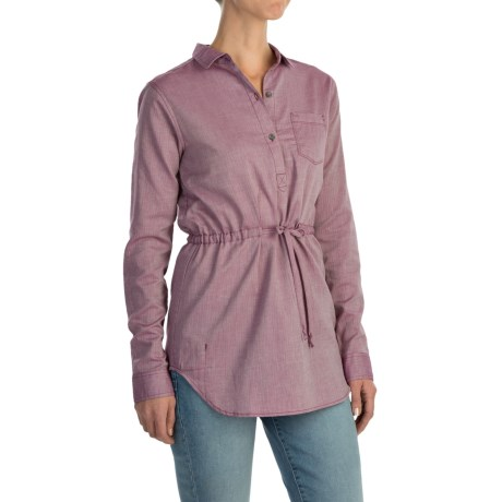 Mountain Hardwear Heralake Tunic Shirt Long Sleeve (For Women)