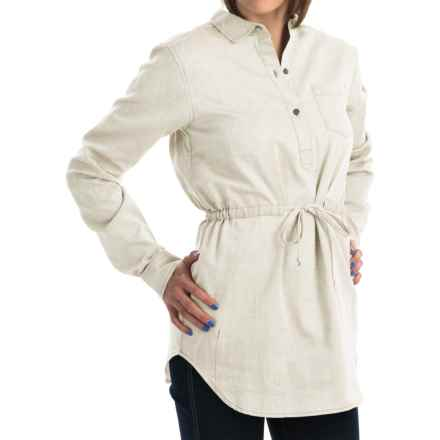 Mountain Hardwear Heralake Tunic Shirt - Long Sleeve (For Women) in Fossil - Closeouts