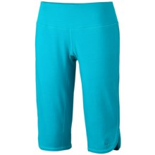Mountain Hardwear High Step Judo Capris - Stretch Cotton (For Women) in Lake Blue - Closeouts