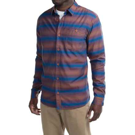 Mountain Hardwear Hillstone Shirt - Long Sleeve (For Men) in Dark Adobe - Closeouts