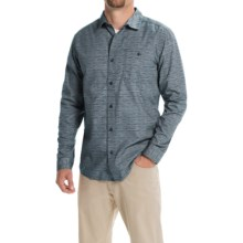 Mountain Hardwear Hillstone Shirt - Long Sleeve (For Men) in Hardwear Navy - Closeouts