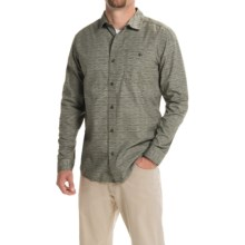 Mountain Hardwear Hillstone Shirt - Long Sleeve (For Men) in Peatmoss - Closeouts