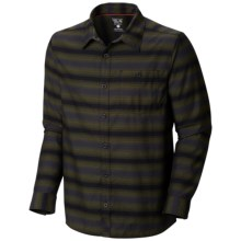 Mountain Hardwear Hillstone Shirt - Long Sleeve (For Men) in Utility Green - Closeouts