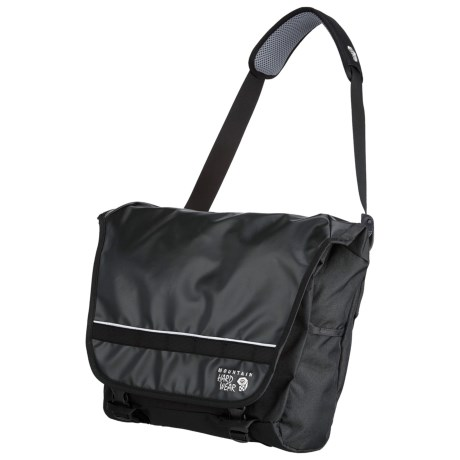 Mountain Hardwear Hilo Messenger Bag in Black /Black