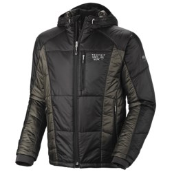 Mountain Hardwear Hooded Compressor Jacket - Insulated (For Men) in Radiance