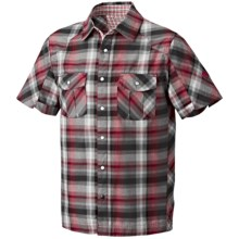 Mountain Hardwear Hubbard Shirt - UPF 30, Short Sleeve (For Men) in Barn Red - Closeouts