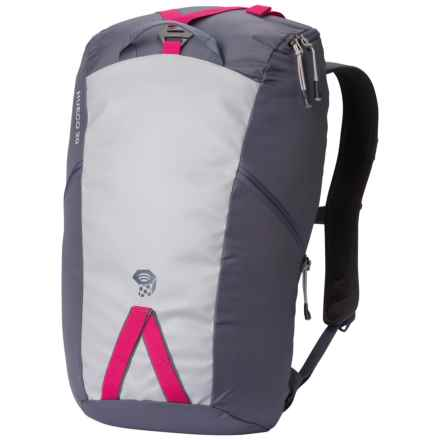 Mountain Hardwear Hueco 20 Backpack in Graphite/Bright Rose - Closeouts
