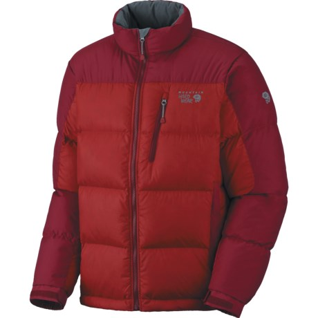 Mountain Hardwear Hunker Down Jacket - 650 Fill Power (For Men) in Red/Thunderbird Red