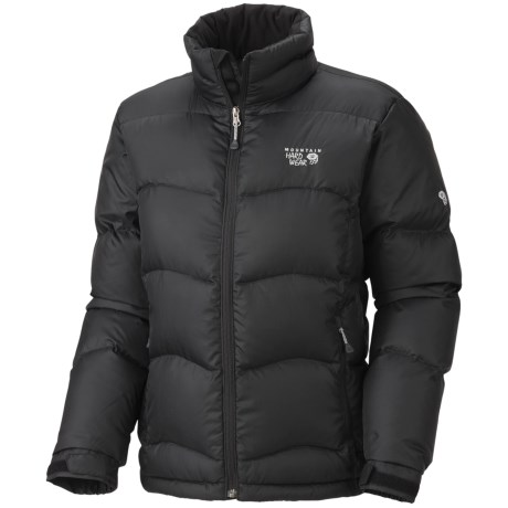 Mountain Hardwear Hunker Down Jacket - 650 Fill Power (For Women) in Black