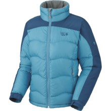 Mountain Hardwear Hunker Down Jacket - 650 Fill Power (For Women) in Oasis Blue/Jewel - Closeouts