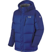 Mountain Hardwear Hunker Down Parka - 650 Fill Power (For Men) in Blue Chip/Sapphire - Closeouts