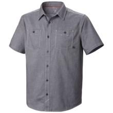 Mountain Hardwear Huxley Shirt - Short Sleeve (For Men) in Shark - Closeouts