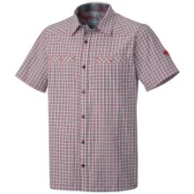 Mountain Hardwear Huxley Shirt - UPF 30, Short Sleeve (For Men) in Bright Red - Closeouts