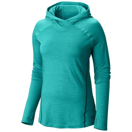 Mountain Hardwear Integral Pro Hooded Shirt Merino Wool, Long Sleeve (For Women)