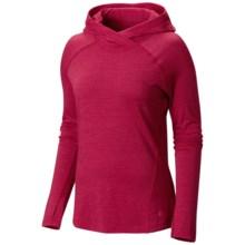 Mountain Hardwear Integral Pro Hooded Shirt - Merino Wool, Long Sleeve (For Women) in Pomegranate - Closeouts