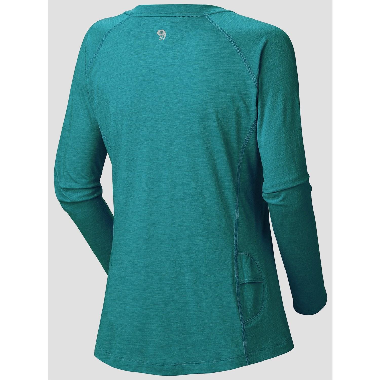 Mountain hardwear integral t shirt for women 6902k for Mountain long sleeve t shirts