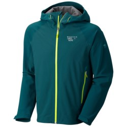 Mountain Hardwear Isomer Soft Shell Jacket (For Men) in Deep Water/Deep Water