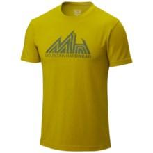 Mountain Hardwear Jagged Mountain T-Shirt - UPF 25, Short Sleeve (For Men) in Python Green - Closeouts