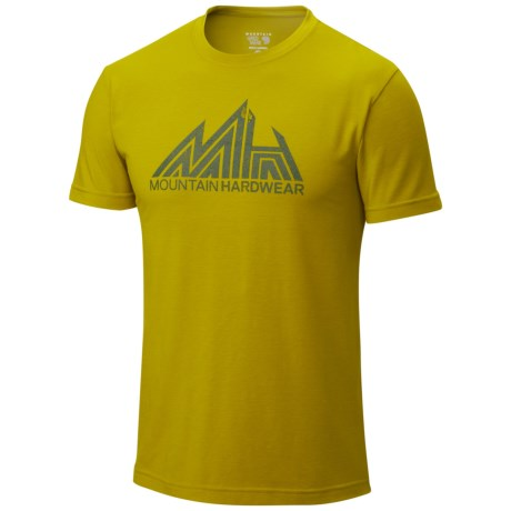 Mountain Hardwear Jagged Mountain T Shirt UPF 25, Short Sleeve (For Men)