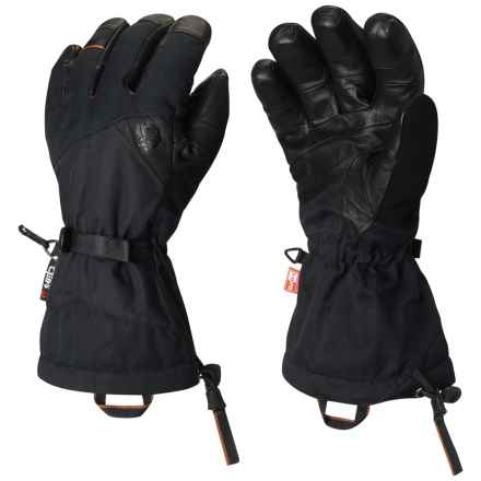 Mountain Hardwear Jalapeno Outdry® Gloves - Waterproof, Insulated (For Men and Women) in Black - Closeouts