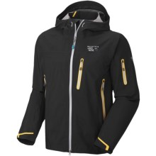 Mountain Hardwear Jovian Jacket - Waterproof (For Men) in Black - Closeouts