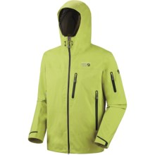 Mountain Hardwear Jovian Jacket - Waterproof (For Men) in Voltage - Closeouts
