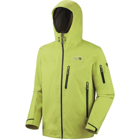 Mountain Hardwear Jovian Jacket - Waterproof (For Men) in Black