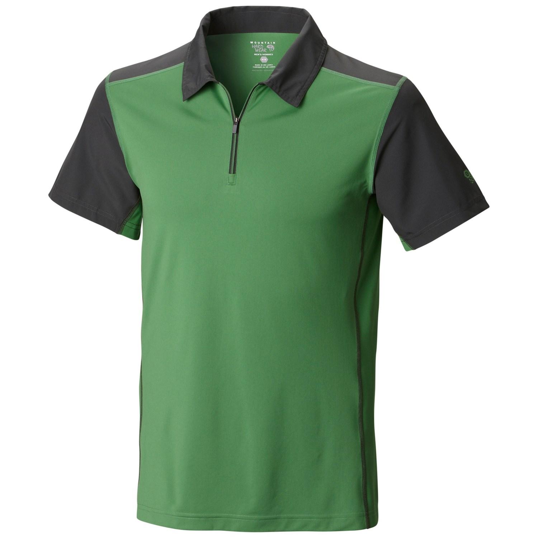 Mens zip neck polo shirt for Foundry men s polo shirts