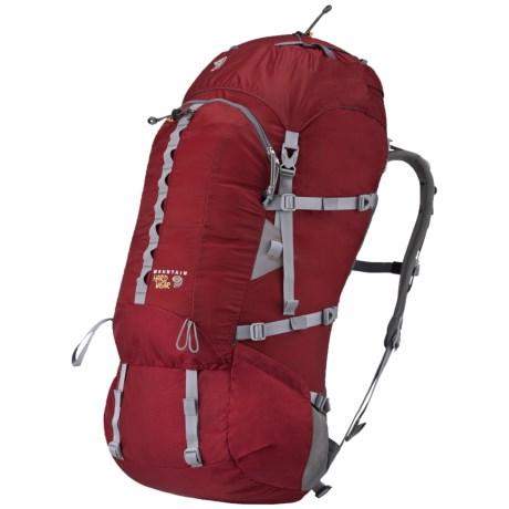 Mountain Hardwear Kanza 55 Backpack - Internal Frame in Red