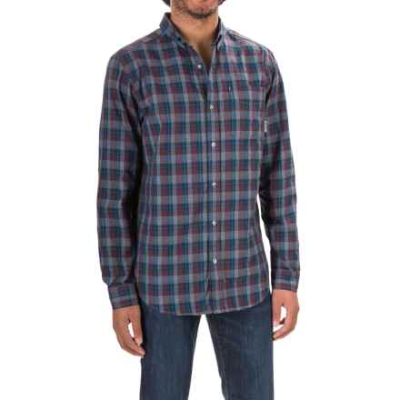 Mountain Hardwear Keller Plaid Shirt - Button Front Long Sleeve (For Men) in Eggplant - Closeouts
